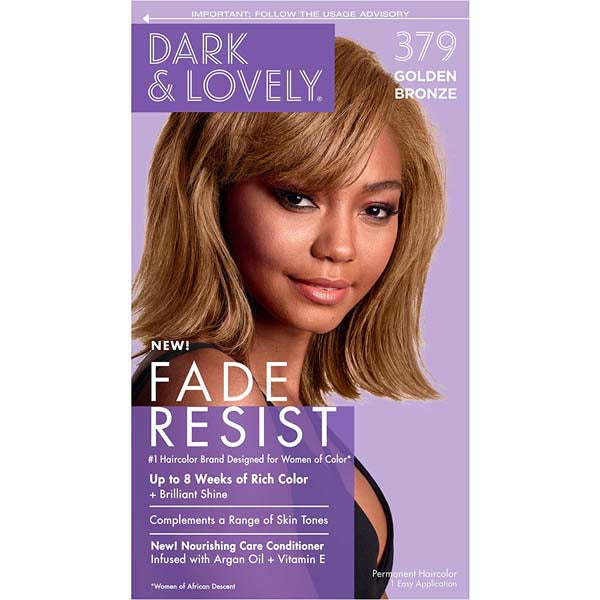 Dark & Lovely - Coloration Fade resist rich conditioning color - Bronze Doré 379