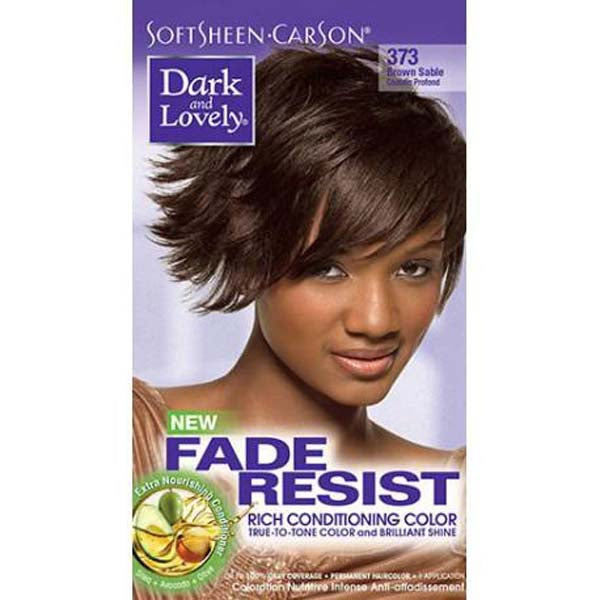 Dark & Lovely - Coloration Fade resist rich conditioning color - Châtain Profond 373