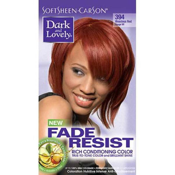 Dark & Lovely - Coloration Fade resist rich conditioning color - Rouge Vif 394
