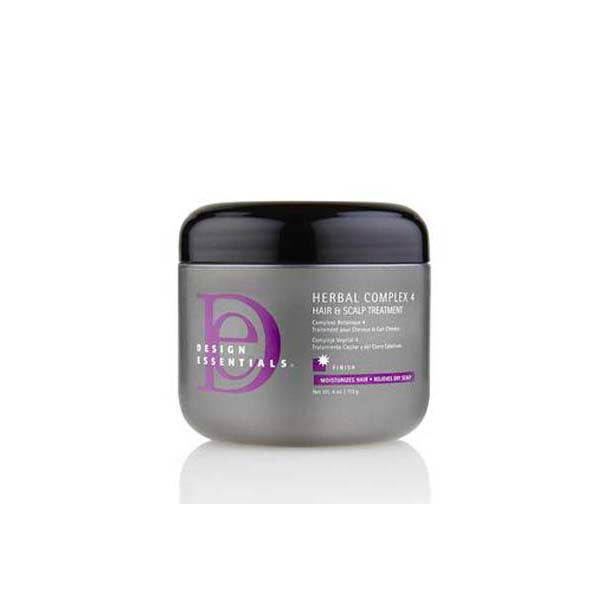 Design Essentials Herbal Complex 4 Hair & Scalp Treatment - Soin Traitement Botanique 4 pour cheveux et cuir chevelu 113 g
