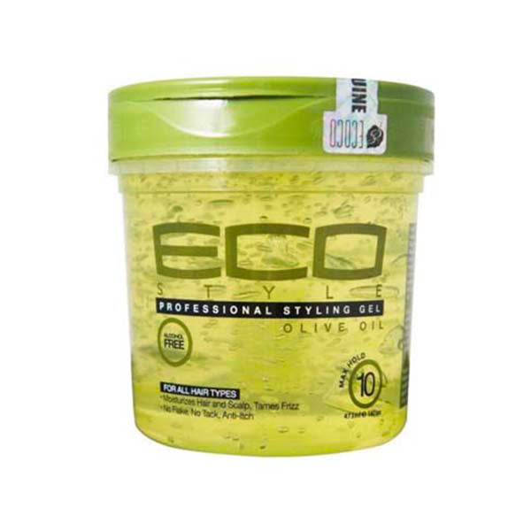 Eco Styler Olive Gel - Gel Coiffant Eco Styler Fixant & Hydratant À L'Huile D'Olive 473 ml