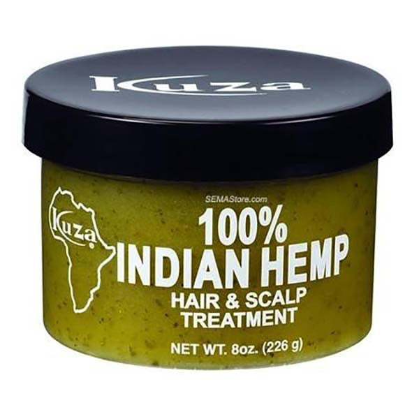 Kuza Royal Indian Hemp - Traitement Des Cheveux Et Du Cuir 100% au Chanvre Indien 2 formats disponibles