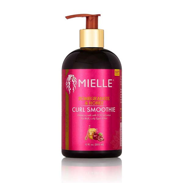Mielle Organics Pomegranate & Honey Curl Smoothie - Smoothie Capillaire Hydratant Riche en Grenade et Miel 355 ml