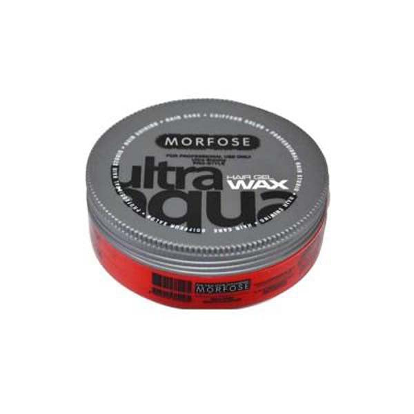 Morfose - Ultra Aqua Hair Gel Wax - Cire coiffante ultra forte tenue 175ml