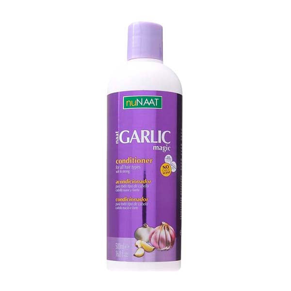 Nunaat Garlic Magic Conditioner - Après Shampoing Soin Enrichi À L'Ail 500 ml