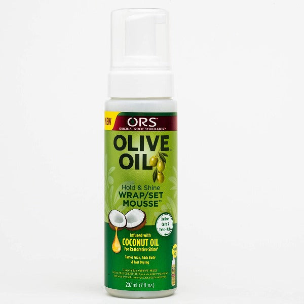 ORS Mousse Coiffante huile Olive - Organic Root Stimulator Olive Oil Wrap Set Mousse 207 ml