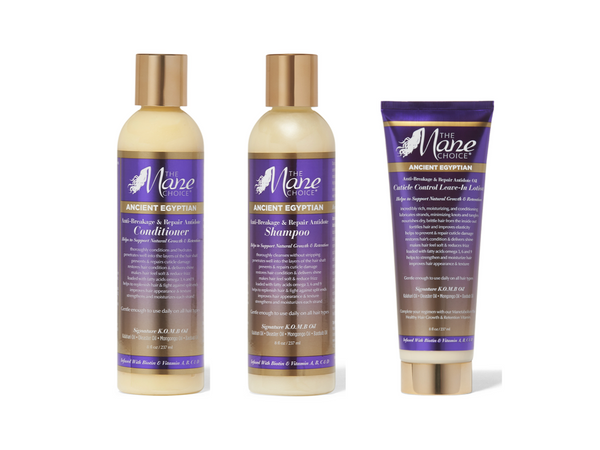 Pack The Mane Choice Ancien Egypt Anti Breakage and Repair  - Routine Capillaire Soin Anti-Casse Réparation Intense des cheveux naturels