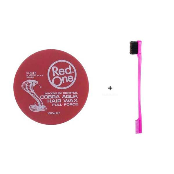 Pack Routine Baby Hair - 1 Cire Red One Red Cobra Wax + 1 Brosse spécial Baby Hair