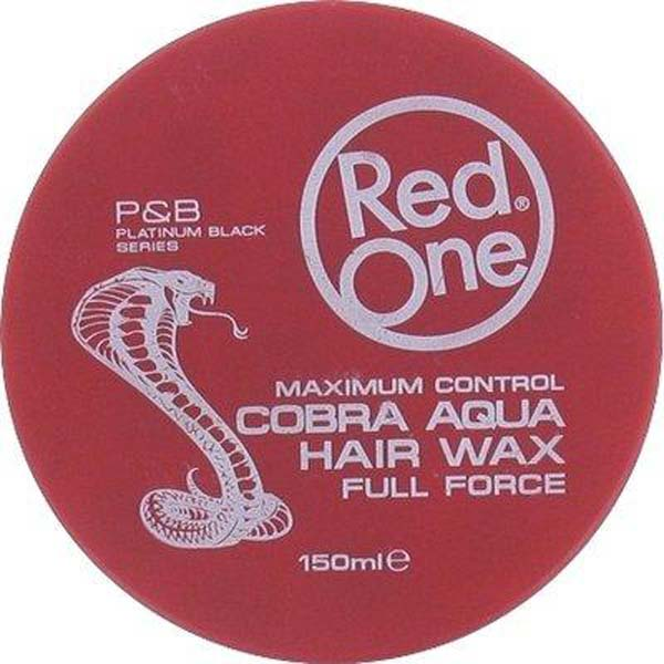 Red One - Cobra Aqua Hair Wax Full Force Maximum Control - Cire coiffante forte tenue Cobra Aqua 150ml