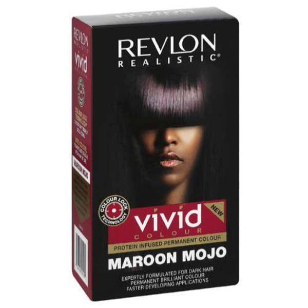 Revlon Realistic -  Vivid color Maroon Mojo coloration permanente