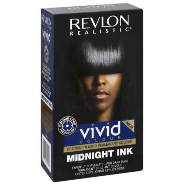 Revlon Realistic -  Vivid color Midnight Ink coloration permanente