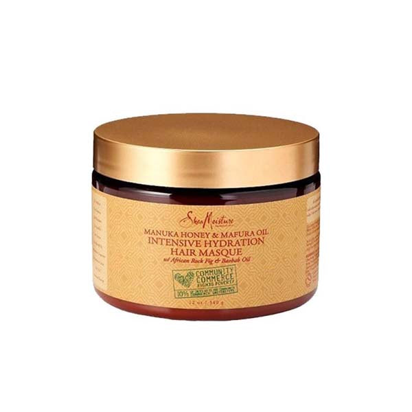 Shea Moisture Manuka Honey & Mafura Oil Intensive Hydration Masque - Masque Super Hydratant 340 ml