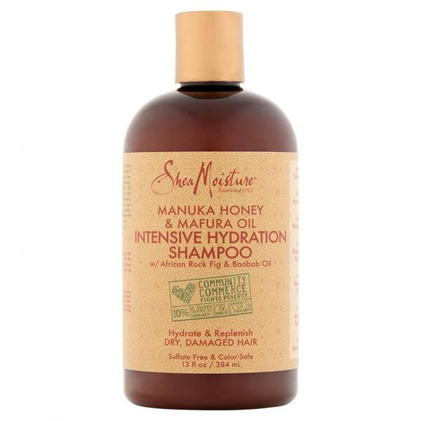 Shea Moisture Manuka Honey & Mafura Oil Intensive Hydration Shampoo - Shampoing Super Hydratant 384 ml