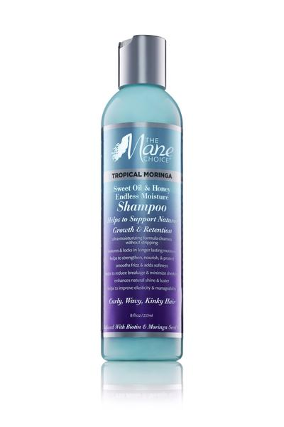 The Mane Choice Tropical Moringa Shampoo - Shampoing à l'Huile De Moringa 237 ml