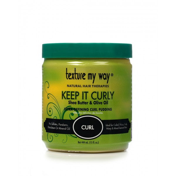 Texture My Way Curly Curl Pudding - Crème Définition Boucles