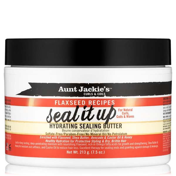 Aunt Jackie'S Flaxseed Seal It Up Butter - Beurre Scellant Ultra Hydratant 213 g