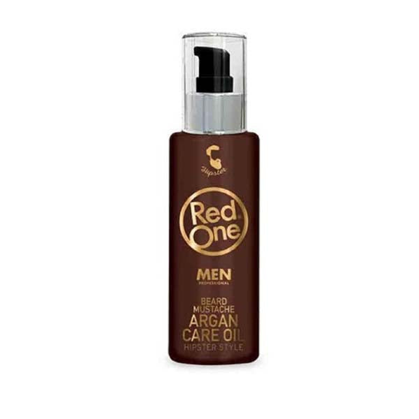 Red One Men Beard Argan care oil - Huile d'Argan Nourrissante pour barbe et la moustache