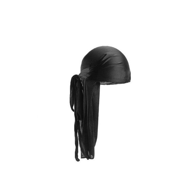 Durag Murry Collection 100% Cotton Durag Breathable & Flexible Black M4801BLK