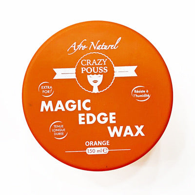 Afro naturel Crazy pouss - Magic Edge wax cire edge control orange tenue longue durée 150 ml