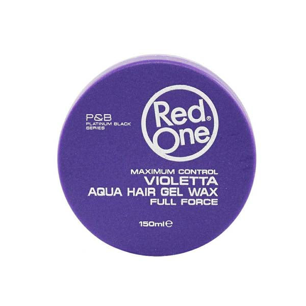 Red One - Violetta Aqua Hair Wax Full Force - Cire coiffante forte tenue 150ml