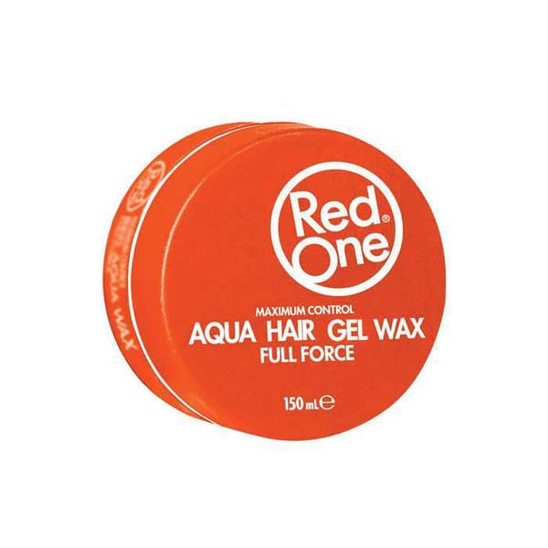 Red One - Orange Aqua Hair Wax Full Force - Cire coiffante forte tenue 150ml