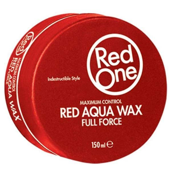 Red One - Red Aqua Hair Wax Full Force - Cire coiffante forte tenue 150ml