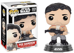Funko Pop! Star Wars Poe Dameron #117 Resistance Exclusive{sku}{barcode}{shop-name}