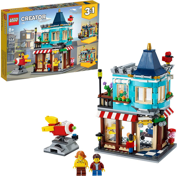 LEGO Creator 3in1 31105 Townhouse Toy Store (554 Pieces) Building Kit New 2020{sku}{barcode}{shop-name}