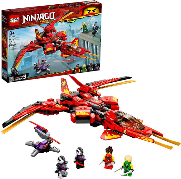 LEGO Ninjago 71704 Legacy Kai Fighter (513 Pieces) BuildingKit New 2020