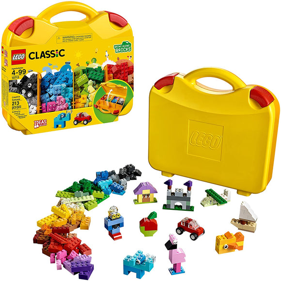 LEGO Classic 10713 Creative Suitcase (213 Pieces) Building Kit{sku}{barcode}{shop-name}
