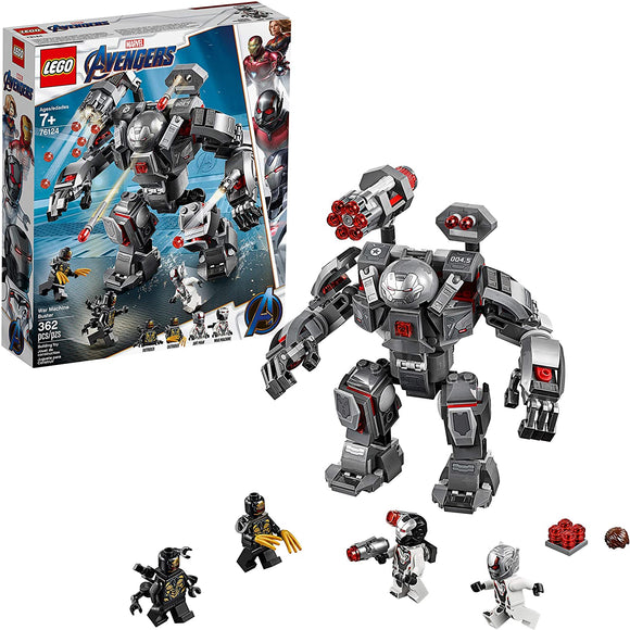 LEGO Marvel Avengers 76124 War Machine Buster (362 Pieces) Building Kit