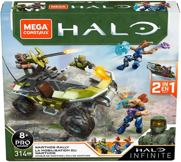 Mega Construx Halo Infinite Vehicle Warthog Rally