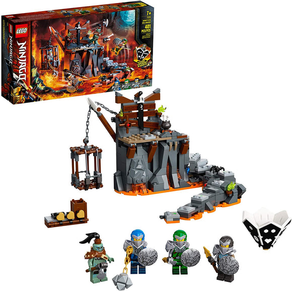 LEGO Ninjago 71717 Journey to The Skull Dungeons (401 Pieces) Building Kit New 2020
