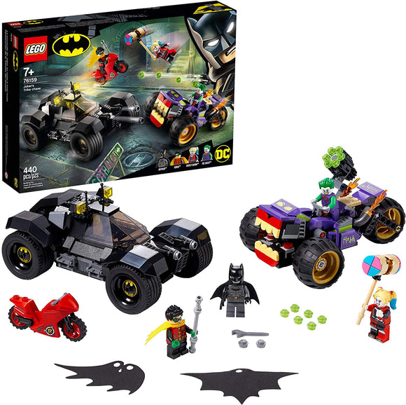 LEGO DC Batman 76159 Joker's Trike Chase (440 Pieces) Building Kit New 2020{sku}{barcode}{shop-name}
