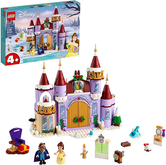 LEGO Disney 43180 Belle's Castle Winter Celebration (238 Pieces) Building Kit New 2020