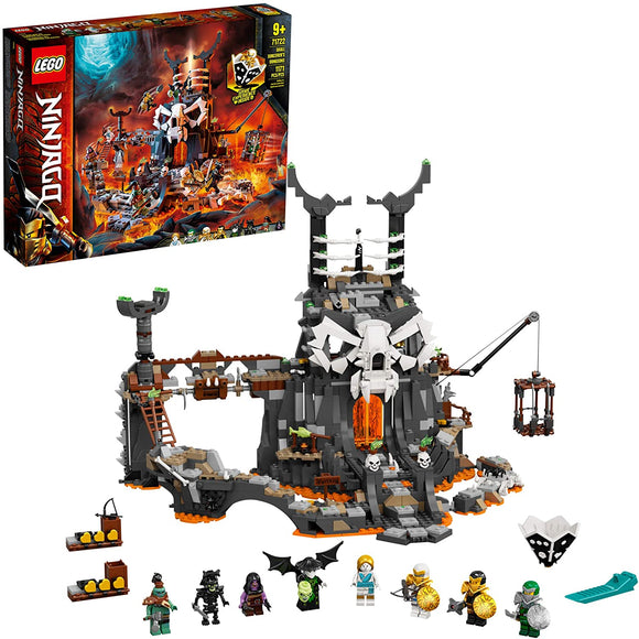LEGO Ninjago 71722 Skull Sorcerer's Dungeons (1,171 Pieces) Building Kit New 2020