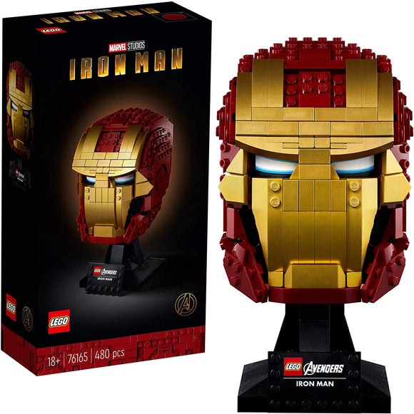 LEGO Marvel Avengers 76165  Iron Man Helmet (480 Pieces) New 2020