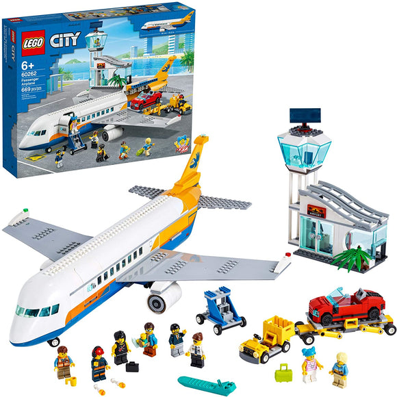 LEGO City 60262 Passenger Airplane (669 Pieces) Building Kit New 2020{sku}{barcode}{shop-name}