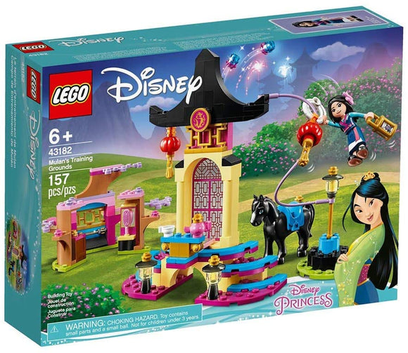 LEGO Disney 43182 Mulan's Training Grounds (157 Pieces) Building Kit