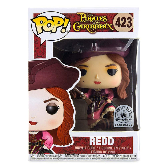 Funko Pop! Disney Pirates of The Caribbean Redd #423 Exclusive  Disney Parks Vinyl Figure 889698295635 B07KJRXMMW BrickPops