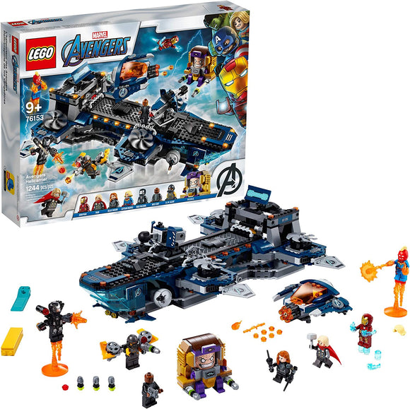 LEGO Marvel Avengers 76153 Helicarrier (1,244 Pieces) Building Kit, New 2020