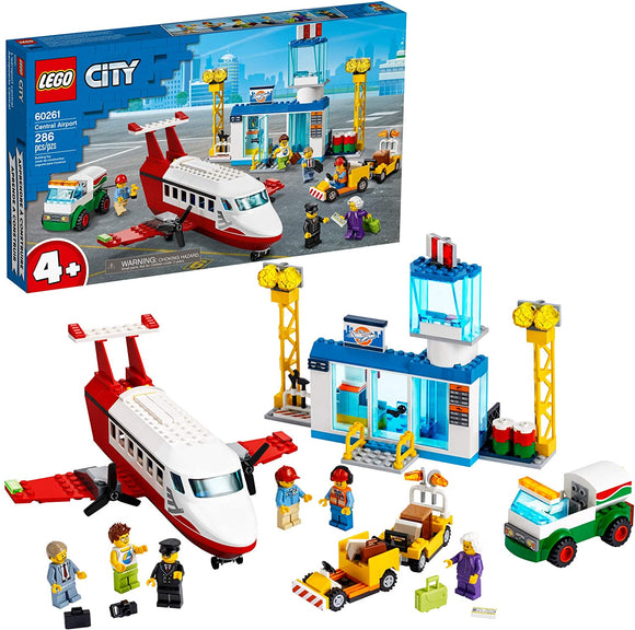 LEGO City 60261 Central Airport (286 Pieces) Building Kit New 2020{sku}{barcode}{shop-name}