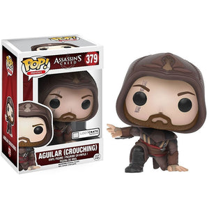 Funko Pop! Assassin's Creed Aguilar #379 Crouching 889698122955 B01MQYGEBU BrickPops