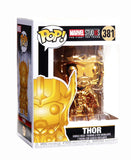 Funko Pop! Marvel Studios 10 Thor #381 Gold Chrome Standard Multicolor Collectible Vinyl Figure 889698335188 B07DFCLQWS BrickPops