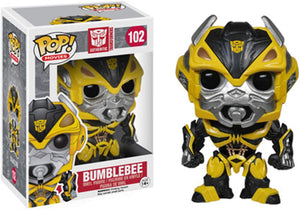 Funko Pop! Movies Transformers Age of Extinction Bumblebee #102 Vinyl Figure 889698398046 B00K8GTKFW BrickPops