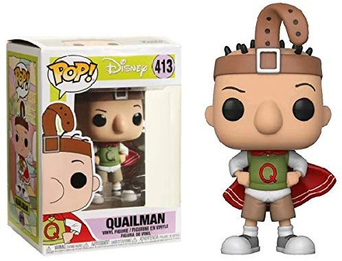 Funko Pop! Disney Doug Quailman #413 Exclusive Vinyl Figure 889698130523 B07D8MZ4RL BrickPops