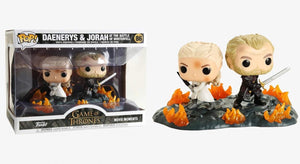Funko Pop! Movie Moment Game of Thrones Daenerys and Jorah with Swords #86 889698448246 B07RTLS2K1 BrickPops