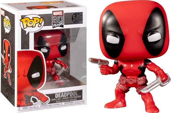 Funko Pop! Marvel 80th Years Deadpool #546 Vinyl Figure 889698441544 B07RN8DSN7 BrickPops