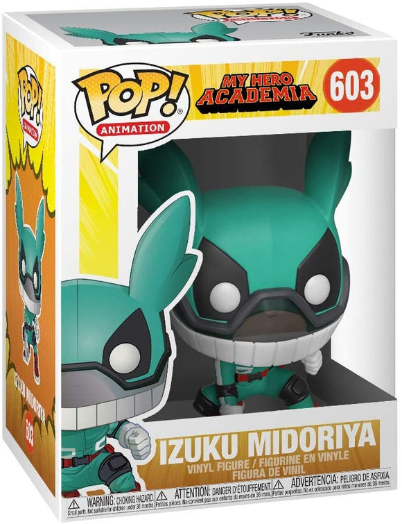 Funko Pop! Animation My Hero Academia Deku #603 with Helmet Vinyl Figure 889698429306 B07Q1JVZMS BrickPops