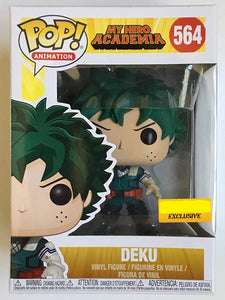 Funko Pop! Animation My Hero Academia Deku #564 Exclusive Vinyl Figure 889698385183 B07QWYS25T BrickPops